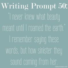 Writing Prompt Fifty