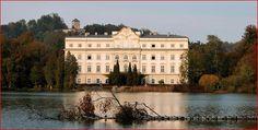 Salzburgo. Casa Von Trapp en Salzburgo. de la película The Sound of Music.