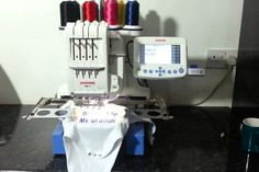 Janome Embroidery Machines produce professional quality embroidery designs at a price that's suitable for a commercial grade device. Janome Embroidery Machine, Embroidery Machine Reviews, Embroidery Machines, Embroidery Designs, Good Things, Commercial, Style, Swag, Outfits