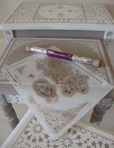 Moroccan style stencil F3 195 http://designinspiration.typepad.com/
