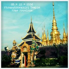 This temple is located in Prae province (Northern of Thailand)