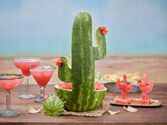 Watermelon Cactus Carving