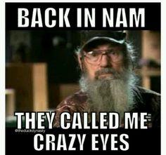 Duck dynasty crazy eyes