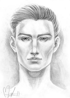 Portrait: Caucasian man by FOERVRAENGD on DeviantArt