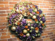 "40"" Holiday Wreath - designed for Colella Chiropractic"