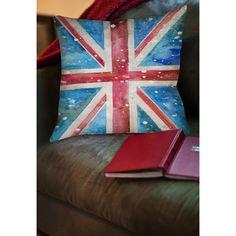 Thumbprintz Union Jack Decorative Throw Pillow