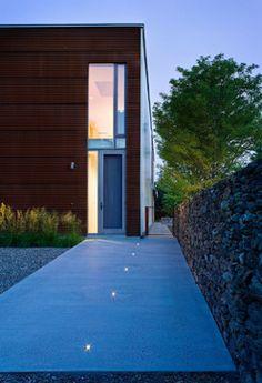 Dutchess County Contemporary Barn - industrial - Landscape - New York - Wagner Hodgson