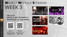 Weekly Workout Schedule, Ugly To Pretty, Fun Workouts, Being Ugly, App, How To Plan, Apps