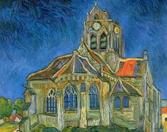van gogh church painting - Hľadať Googlom