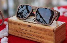 6f883eb0e8 The Navigator - rectangular walnut wood sunglasses