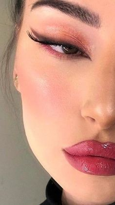 Edgy Makeup, Eye Makeup Art, Cute Makeup, Pretty Makeup, Makeup Inspo, Makeup Inspiration, Beauty Makeup, Hair Makeup, Natural Makeup Looks