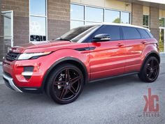 Land Rover Range Rover Evoque with Custom Wheels by CEC in Los Angeles CA . Click to view more photos and mod info.