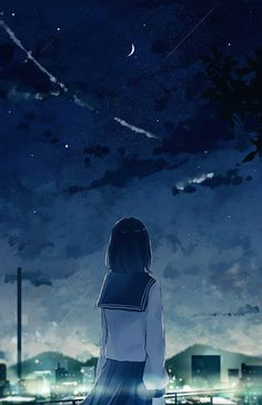 Anime Girl Crying, Anime School Girl, Cool Anime Girl, Kawaii Anime Girl, Anime Art Girl, Kawaii Art, Anime Backgrounds Wallpapers, Anime Scenery Wallpaper, Anime Artwork