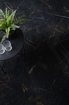 Deluxe Midnight Ultra Gloss Black Marble Effect Tiles are the ultimate opulent statement for your home. Their specialist granular glaze creates an amazing sense of depth for stunning visual impact in any room where wall or floor tiles are a core decorative element. Crafted from durable porcelain, their large format rectified body is perfect for creating the seamless statement you always dreamed of. They have the ultimate opulent feel. Black Tiles, Black Marble, Marble Effect, Large Format, Glaze, Tile Floor, Core, Porcelain, Flooring