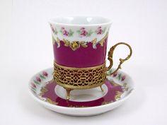 antique demitasse cups