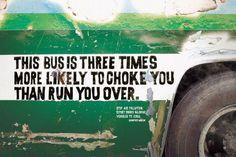 Environmental pollution creative ads — Air Pollution Watch: CHOKE