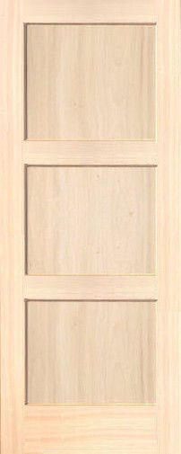 Slab doors wood interiors and solid wood on pinterest for Flat solid wood door