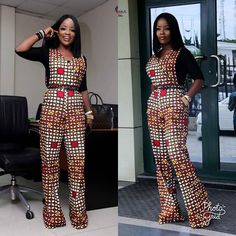 """@Regrann from @houseofnini1 - Thelma jumpsuit (Got a new print) served with our best selling body top """"A DAY WITH HOUSE OF NINI"""". We can't wait to share this - #regrann Jumpsuit from @houseofnini1"""