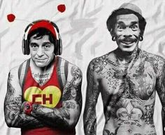 chapulin colorado y don ramon tatoos