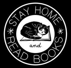 Stay home read books     Made this tote for Strand.     (via catscardigansbooks)