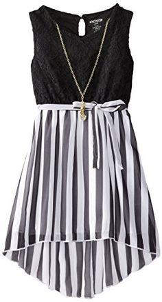 Derek Heart Girl Girls 7-16 Maxi Dress with Braided Straps ...