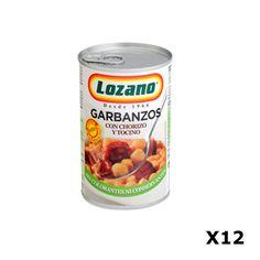 Bestelling Kikkererwten met Chorizo PN400 Gr  - Lozano