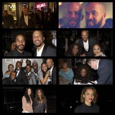 #BePeerless125 @CrossPens @common @Oprah receiving #CrossPens at Hollywood Pre-Oscar party with @SelmaMovie cast