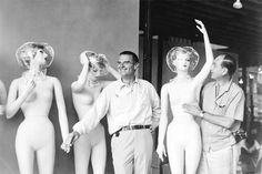 George Nelson y Charles Eames Mannequins en el Jungle Gym