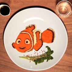 La purée aux 2 saveurs de Nemo, ma première recette pour le site Disney.fr!