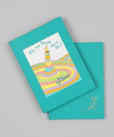 """""""Oh, the Places You'll Go!"""" hardcover by Dr. Seuss."""