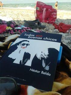 Marina, desde la playa de Nules, Castellón. Adquiere tu ejemplar en http://nessbelda.blogspot.com.es/p/comprar-todas-son-buenas-chicas.html