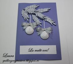quilling my passion: christmas cards