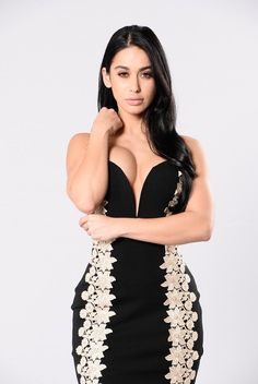 Sweet Emotion Dress - Black