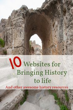 Here is a collection of websites for bringing history to life. Along with other engaging history resources such as historical fiction, fun with maps, and virtual field trips! These are sure to help kids be more engaged in their history studies! History Memes, Us History, History Facts, Ancient History, Family History, History Websites, British History, History Timeline, European History
