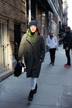 The Sartorialist // On the Street……Garance's Cold Weather Gear, New York