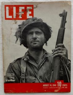 In Normandy Cover D-Day Invasion 1944 August 14 Life Magazine