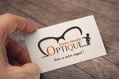 Carte de visite réalisée pour Ancenis-Varades Optique : www.varades-optique.fr / www.ancenis-optique.fr (recto) #AgenceCommunication #EntrepriseCommunication #DesignGraphique #Design #Graphisme #CréaPlume #Creaplume #Enseigne