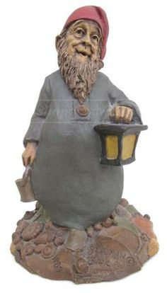 Large Picture Tom Clark, Paper Lanterns, Gnomes, Fairies, Thrifting, Auction, Sculpture, Statue, Collection