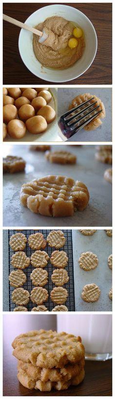Welfare Peanut Butter Cookies