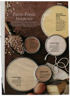 Farm-Fresh Neutrals Paint Colors - Better Homes & Garden, October 2011