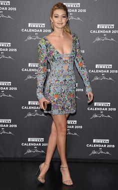 Glitz & Glam from Gigi Hadid's Best Looks  In Emilio Pucci