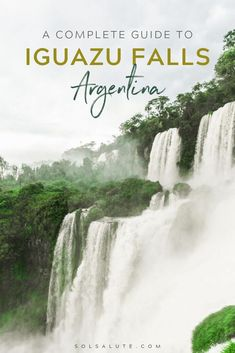 A Complete Guide to Iguazu Falls in Argentina: Everything you need to know to visit las Cataratas de Iguazu | Where to stay in Iguazu Falls | Puerto Iguazu hotels | Iguazu Falls accommodation | how to get to Iguazu | Iguazu Falls day trip | Iguazu Falls Argentina side | Best tours of Iguazu Falls | the perfect Iguazu Falls itinerary | things to do in Iguazu Falls | visit Iguazu Falls | visiting Iguazu Falls | what to do in Iguassu   #argentina     #iguazu