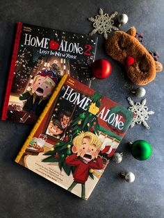Home Alone, Christmas Ornaments, Holiday Decor, Classic, Illustration, Books, Mesh, Instagram, Winter