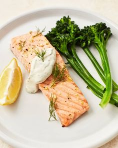 5 Easy 3-Ingredient Sauces for Chicken   Kitchn Shrimp Recipes, Salmon Recipes, Sauce Recipes, Fish Recipes, Cooking Recipes, Dill Salmon, Baked Salmon, Chicken Foil Packets, Bon Appetit