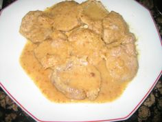 solomillo en salsa de almendras