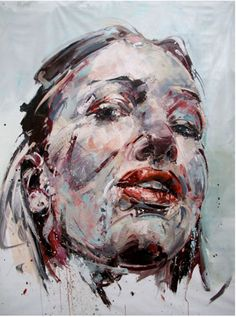Painting by French artist Philippe Pasqua