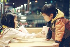 "Find and save images from the ""Asian kids."" collection by Harumii (Harumii_Y) on We Heart It, your everyday app to get lost in what you love. Cute Asian Babies, Korean Babies, Asian Kids, Cute Babies, Mode Ulzzang, Ulzzang Kids, Ulzzang Couple, Korean Couple, Young Love"