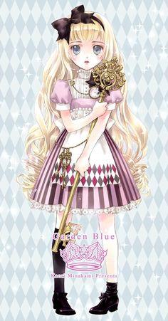 """Alice from """"Alice In Wonderland"""" by manga artist Kaori Minakami."""