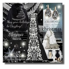 """""""Journi's """"Elegance Christmas Outfit"""" For Contest"""" by carmen-ireland ❤ liked on Polyvore featuring Harrods, Oscar de la Renta, Nine West, Alexander McQueen, Pomellato, WALL and Lene Bjerre"""