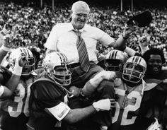 Ohio State Coach Woody Hayes